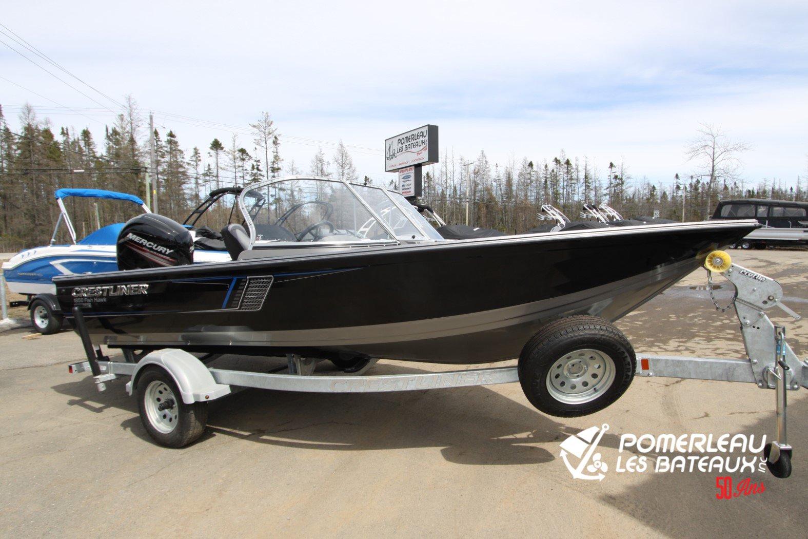 Crestliner Fish Hawk 1850 Platinum - IMG_2285