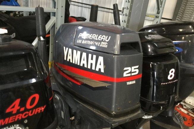 Yamaha 25 Tiller