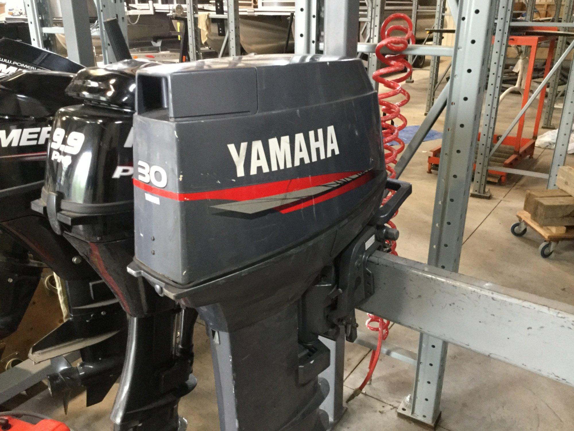 Yamaha 30 Tiller - IMG_1633
